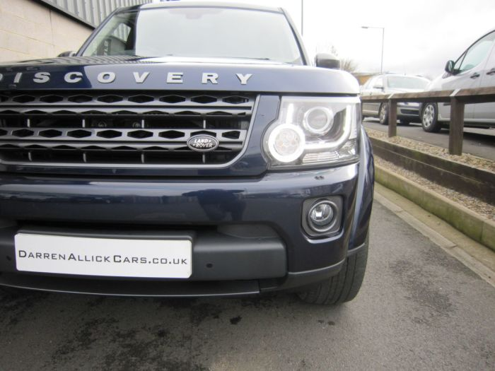 Land rover Discovery 3.0 SE Commercial Sd V6 Auto - VERY HIGH SPEC Four Wheel Drive Diesel Loire Blue Metallic
