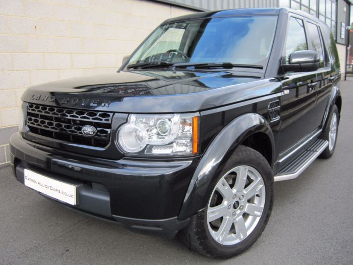 Land rover Discovery 3.0 Commercial Sd V6 [255] Auto - FULLY COLOUR CODED Four Wheel Drive Diesel Sumatra Black Metallic